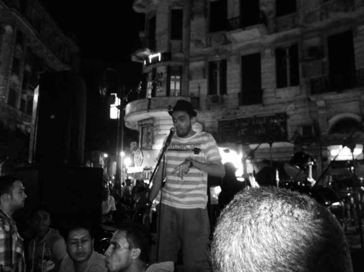 @TalatHarbSquare with Aly Talibab